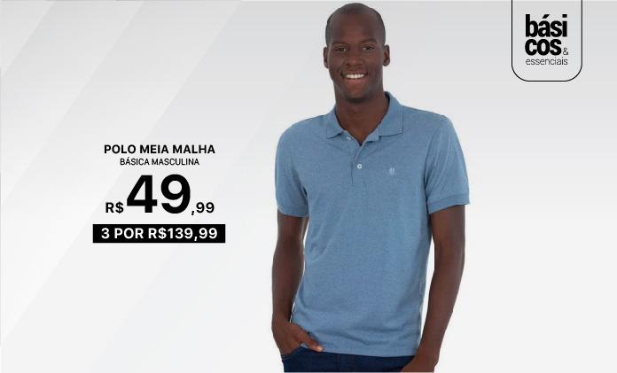 Consumidor - Polo Meia Malha   695x420