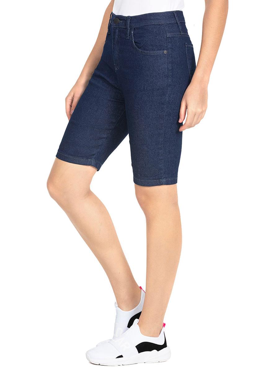 Bermuda Feminina Jeans Básica 013002050040