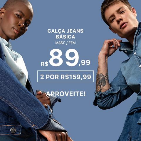 Calças Jeans básicas