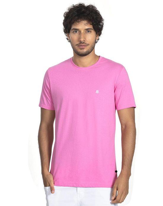 Camiseta Masc Gc Bordado Areia Rosa Claro Polo Wear P