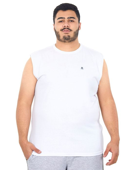 Camiseta Masculina Over Branco Polo Wear Unica G1