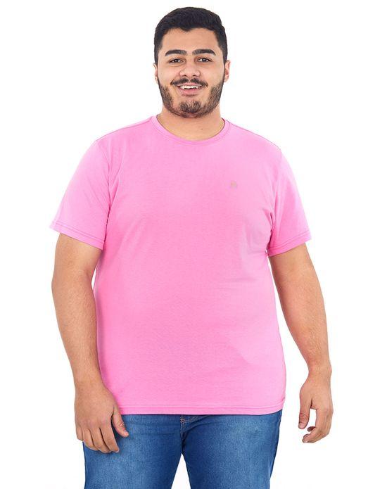 Camiseta Masculina Over Rosa Claro Polo Wear G1