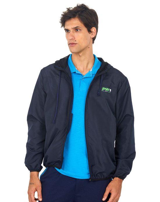 Jaqueta Corta Vento Masculina Polo Wear Azul Escuro M