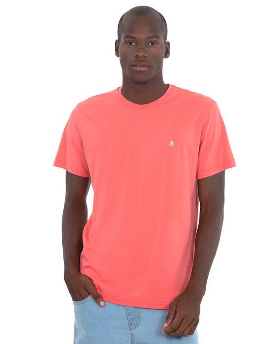Camiseta Masc Gc Bordado Off White Rosa Médio Polo Wear Rosa médio P