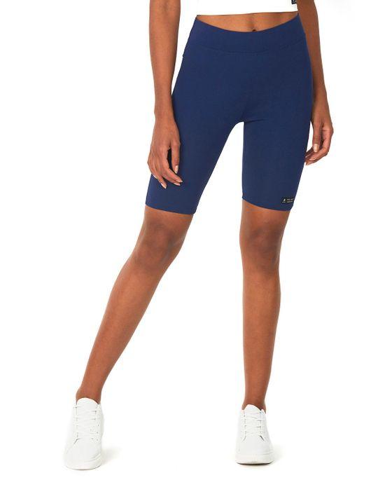 Bermuda Ciclista Feminina Azul Escuro Polo Wear PP