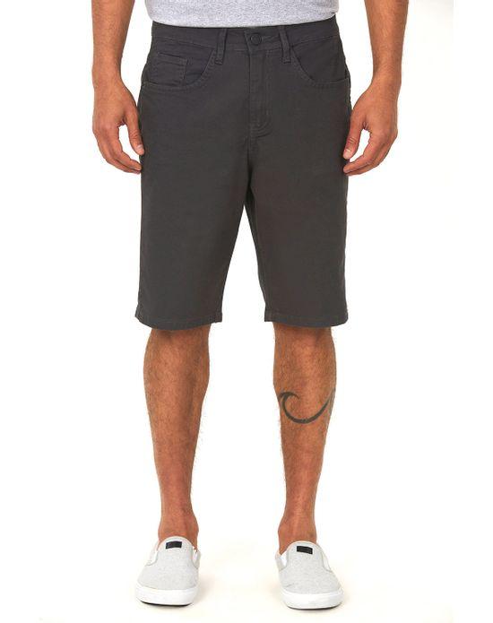 Bermuda Masculina Color Cinza Escuro Polo Wear 40
