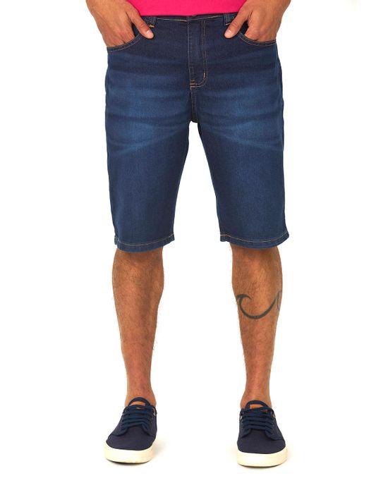 Bermuda Masculina Jeans Médio Polo Wear 38