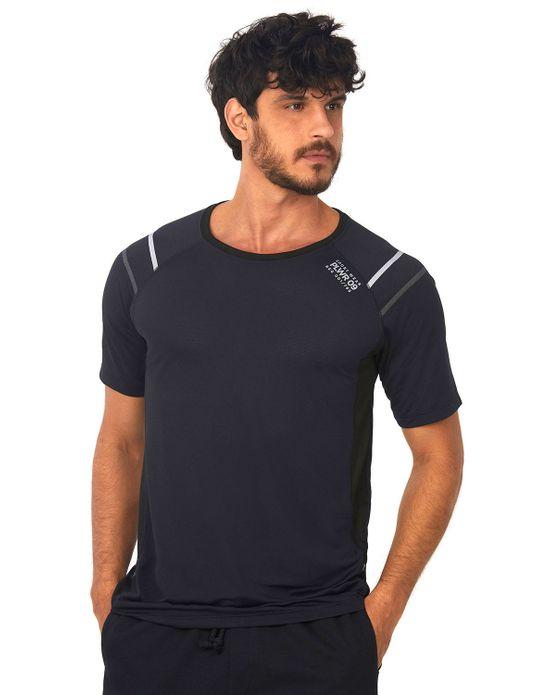 Camiseta Dry Fit Preto Polo Wear P