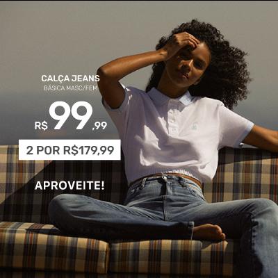 Calça Jeans Básica Mobile